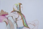 Looking-Forward-Colored-Pencil