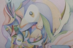 fein_bird life_colored pencil