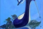 Blue Shoe Down the River