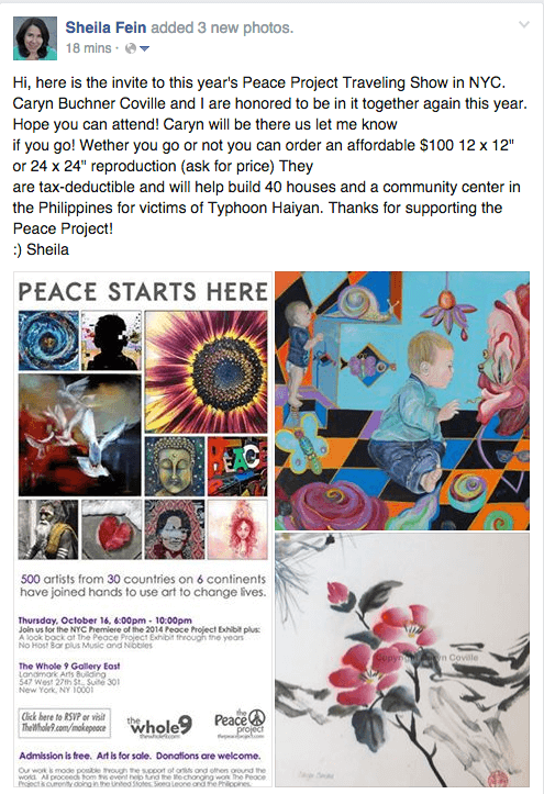 PeaceProject2014 for Blog 2