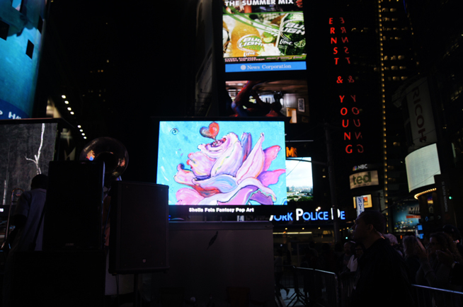 """Rpsebud"" in Times Square NYC"