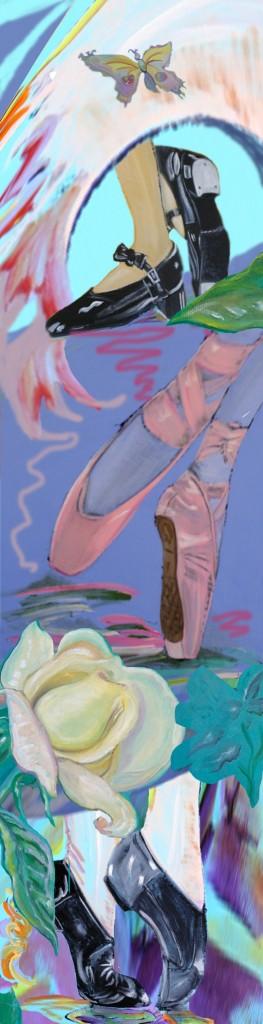 Sheila Fein Rough for Mural