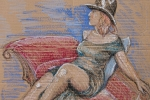 Maude-B-oil-pastels-cardboard
