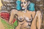 Tony-Sky-small-nude-oil-pastels-cardboard