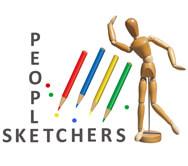 Logo I designed for People Sketchers
